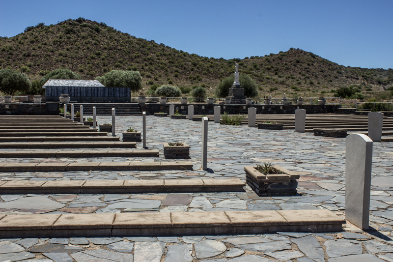 The graveyard of the Bethulie Concentration Camp