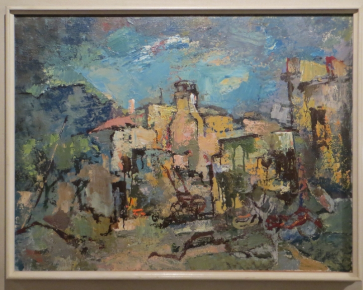 Boonzaier, 'Malay Quarter with White Chimney', 1962