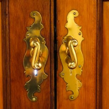 Door handles in The Hester Rupert Art Museum, Graaff Reinet