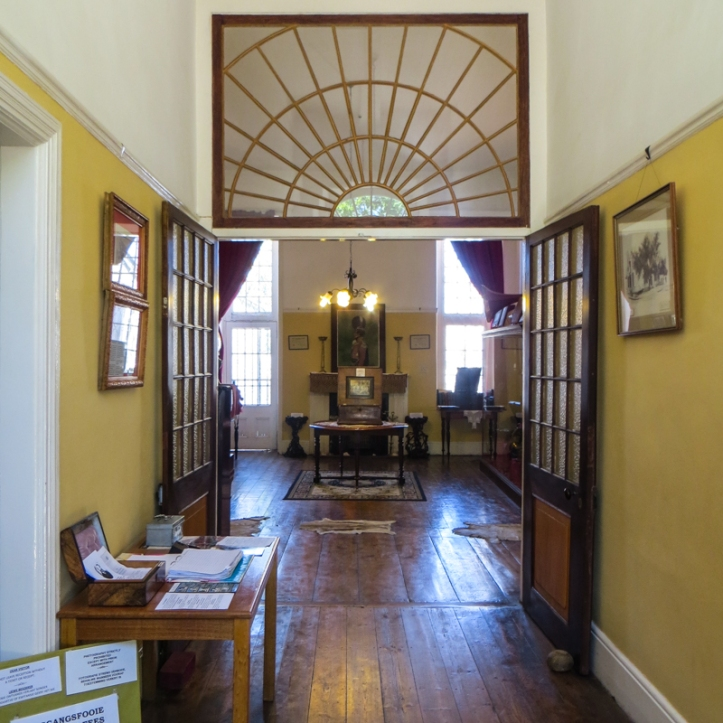 The interior of the Old Residency, Graaff Reinet