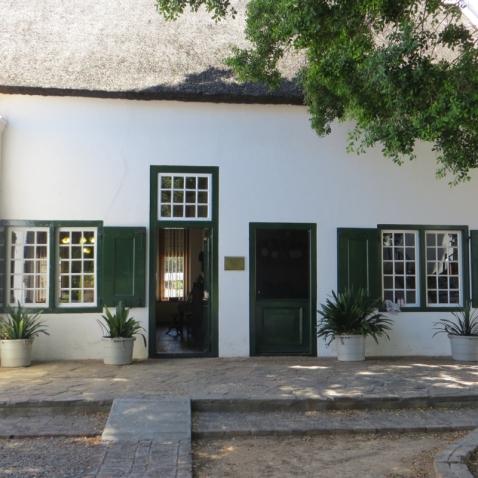 The back door of Urquhart House