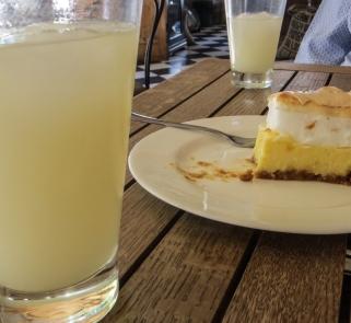 Homemade Ginger Beer & Lemon Meringue Tart