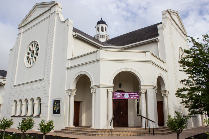The Nuwe Kerk of The Dutch Reformed Church, Graaff Reinet