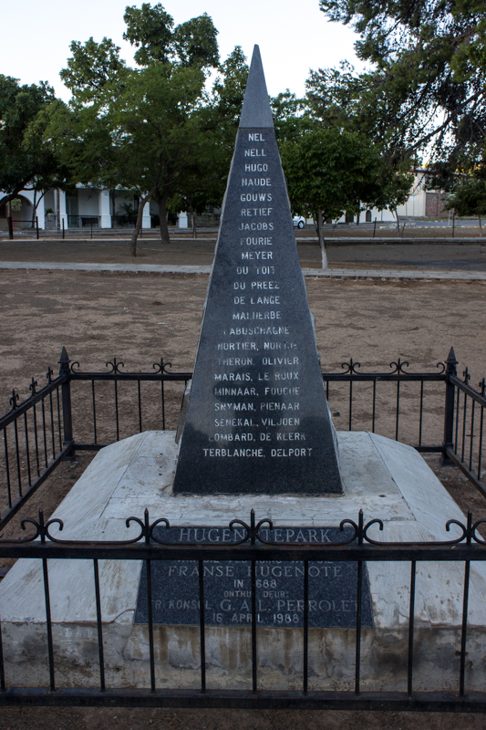 The Huguenot Memorial, Graaff Reinet