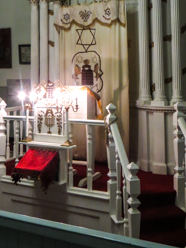 The synagogue in the Museum