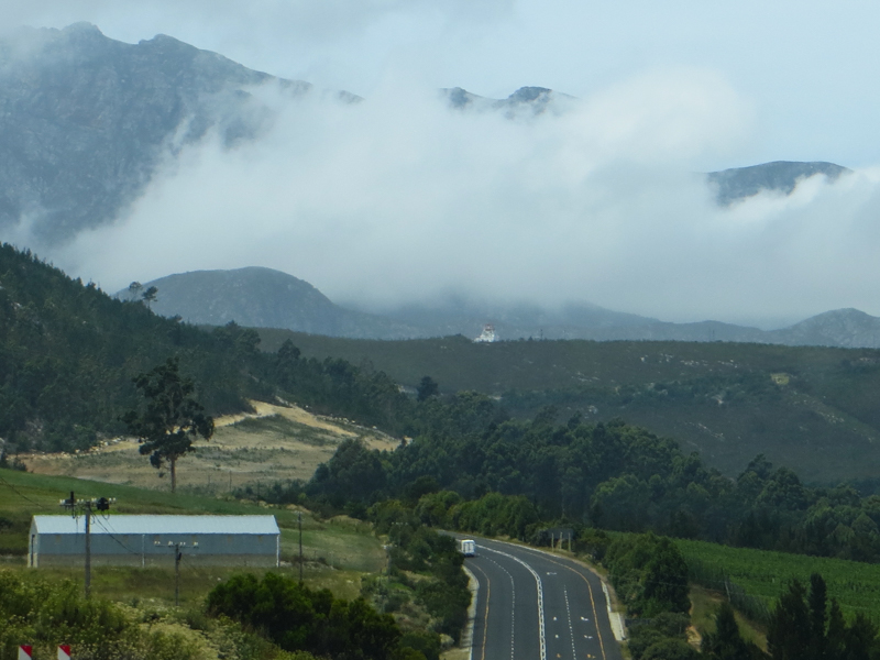 Heading into the Outenequa Mountains