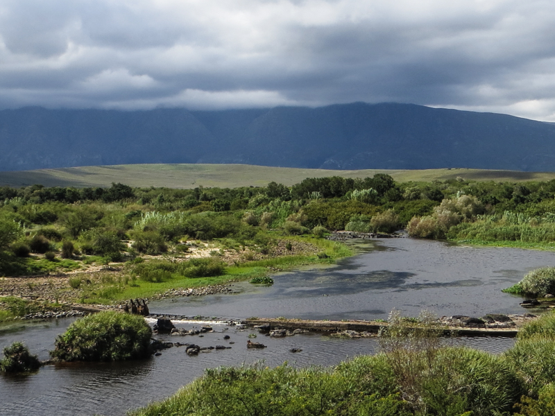 The Breede River in The Bontebok National Park