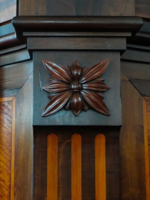 The pulpit in the Dutch Reformed Church, Swellendam