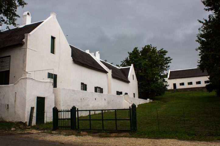 The Drostdy, Swellendam, with the barn behind