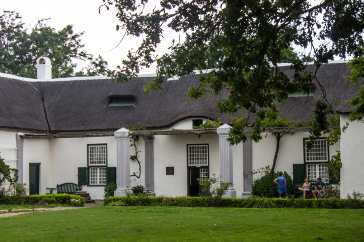 The entrance to the Drostdy, Swellendam