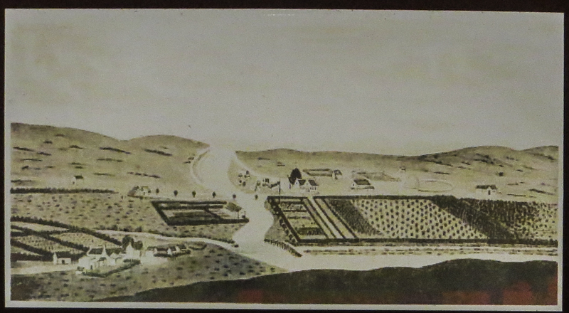 Drawing of Swellendam by Johannes Schumacher (1776)