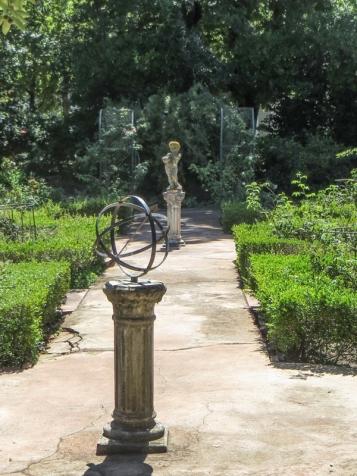 The garden at Mayville House, Swellendam