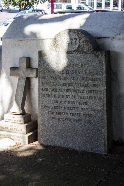 Graves in the Dutch Reformed Church, Swellendam