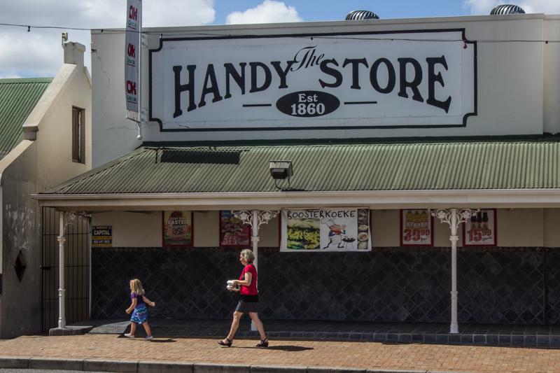 The Handy Store in Voortrek Street