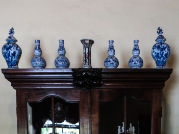 Blue & White Japanese ware in the Bletterman House