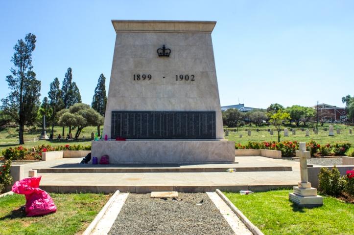 Anglo-Boer War Memorial, President Brand Cemetery, Bloemfontein