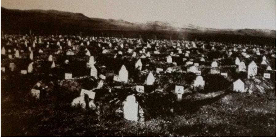 Bethulie Concentration Camp Cemetery (http://www.bbctransgenerational.com/gallery.html)