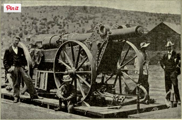 Boers with Long Tom en route to Kimberley (http://www.sa-cannon.com/long_tom.html#.VtgL8JOLTow)