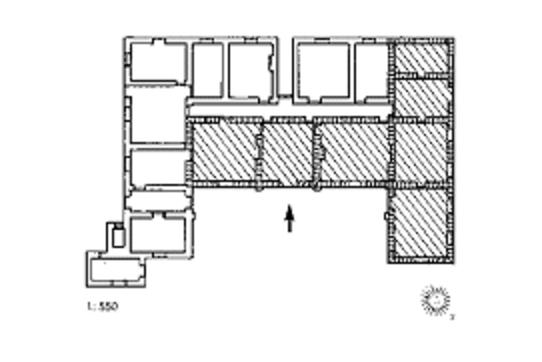 Original plan of the Drostdy