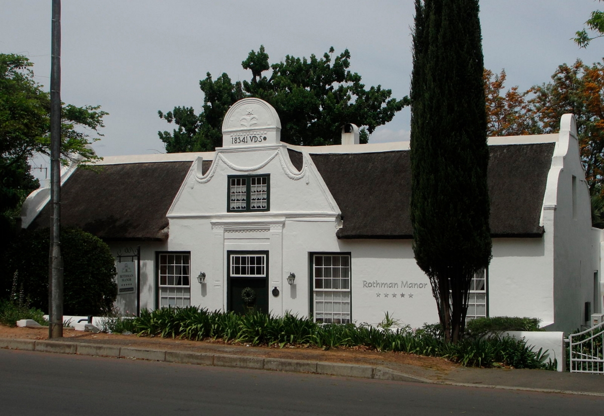 Rothman Manor, Swellendam (https://commons.wikimedia.org/wiki/File:JVDS_House.JPG)