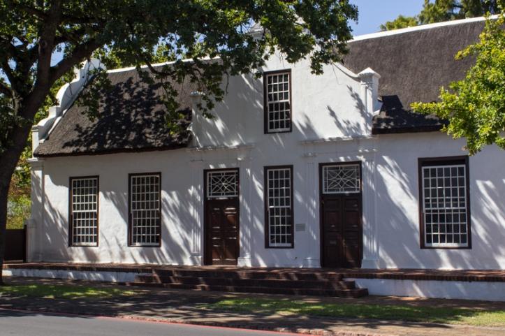 The front facade of Libertas Parva, Stellenbosch
