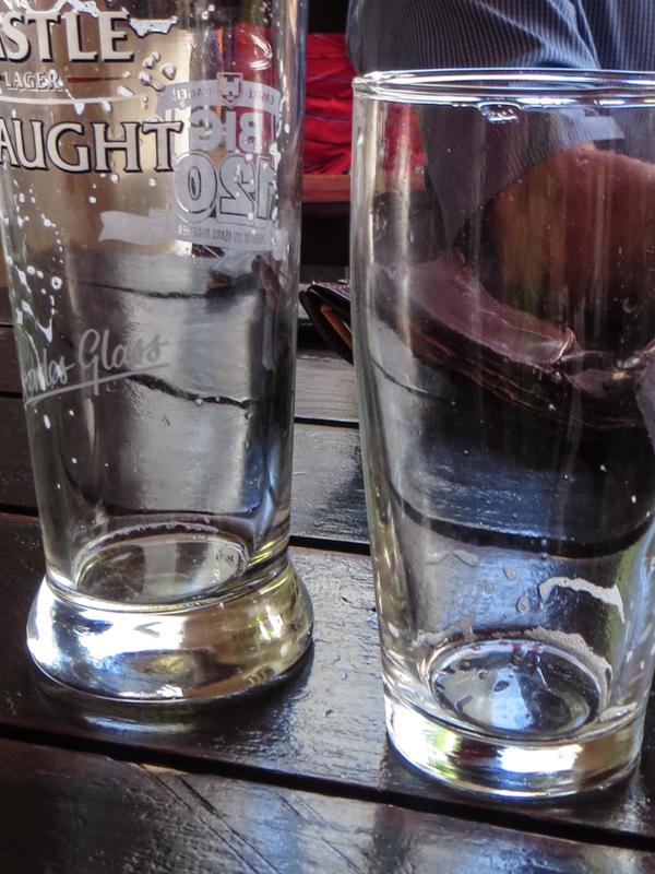 Refreshment in Franschhoek