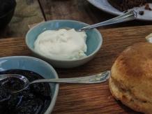 Cream scones at Boschendal