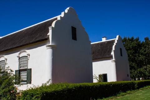 Boschendal is an H-shaped house