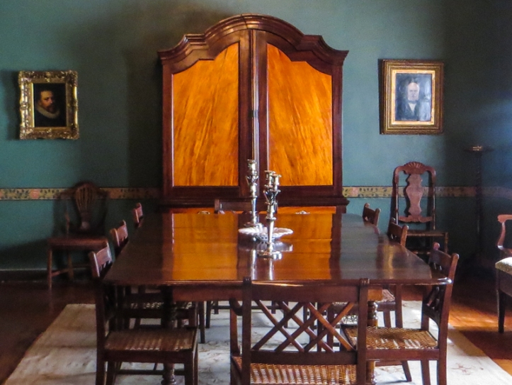 The dining room at Boschendal