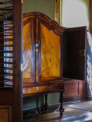 Yellowwood & stinkwood furniture at Boschendal