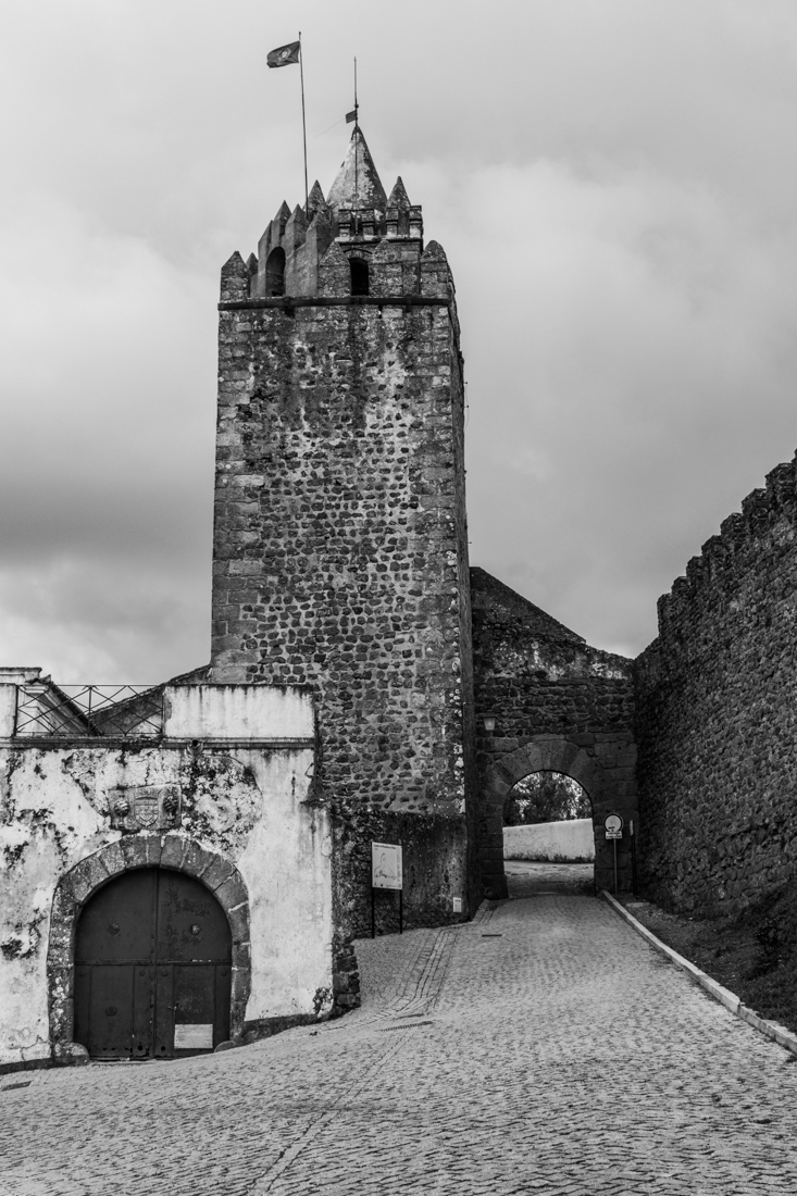 The Town Gate & the Guardhouse of the Castle at Montemor-o-Novo