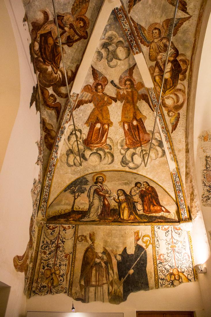 Frescoes in the Church of St James, Montemor-o-Novo