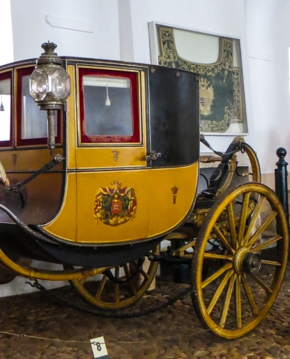 The Coach Museum in the former stables of the Ducal Palace