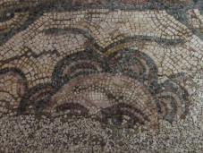 Roman mosaics in the Archaeological Museum, Vila Vicosa