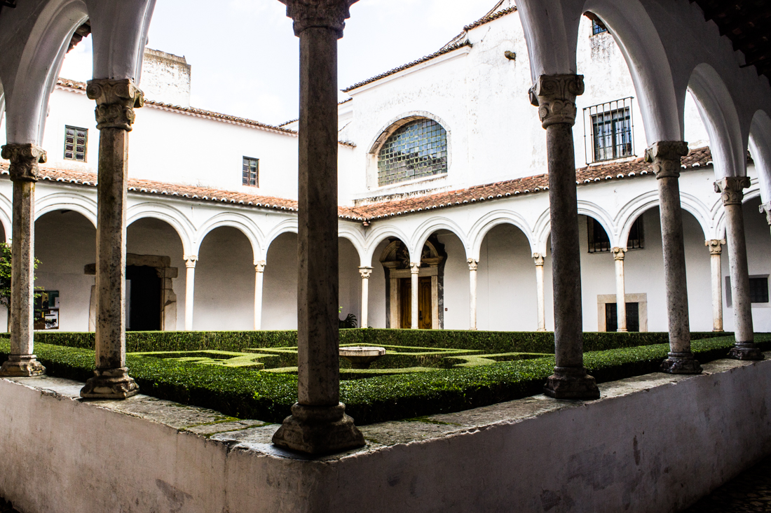 The Cloister of the Chapel Royal in the Ducal Palace, Vila Vicosa