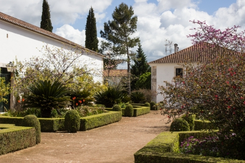 The gardens of the Ducal Palace, Vila Vicosa
