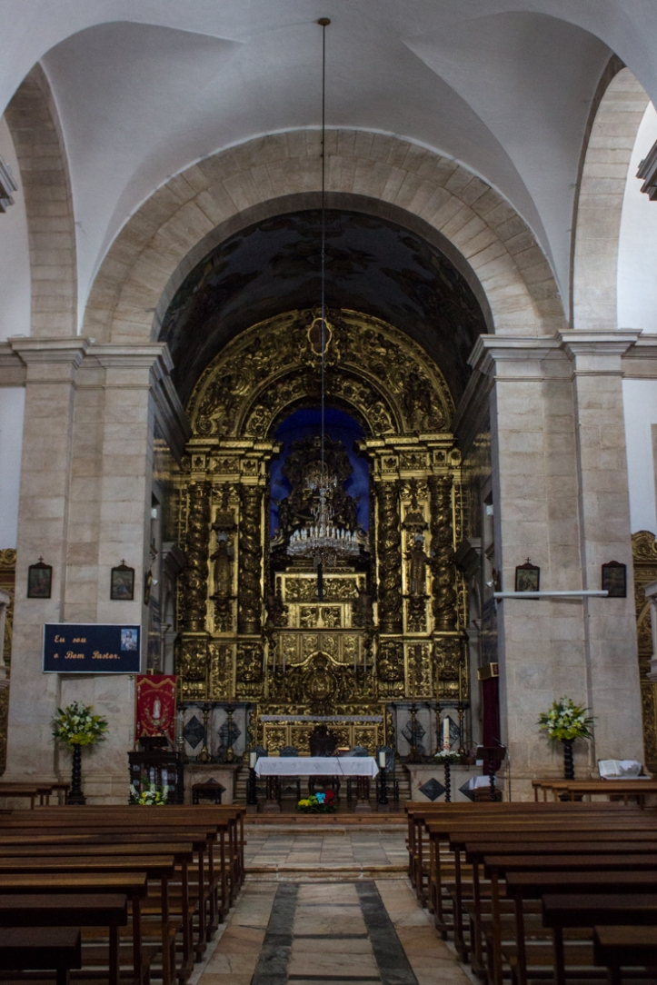 The High Altar of the Church of Sao Bartolomeu