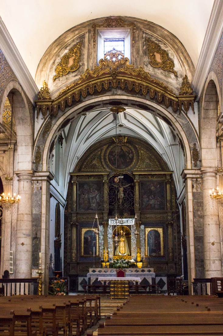 The High Altar of The Church of Nossa Senhora do Conceicao, Vila Vicosa