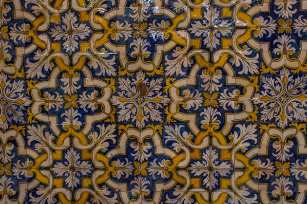Tiles in The Church of Nossa Senhora do Conceicao, Vila Vicosa