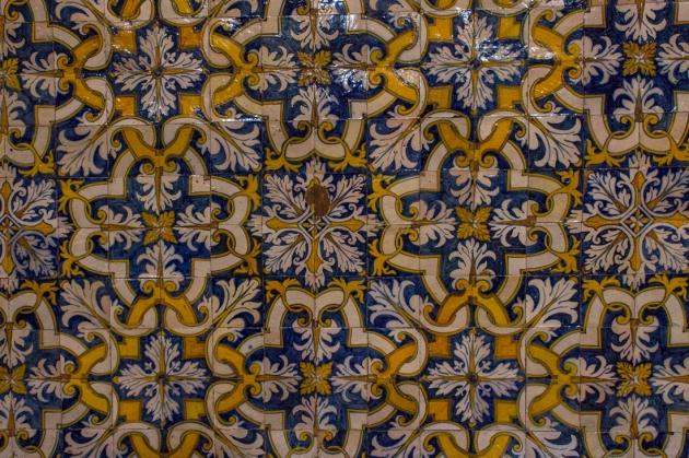 Tiles in The Church of Nossa Senhora do Conceicao, Vila Vicosa