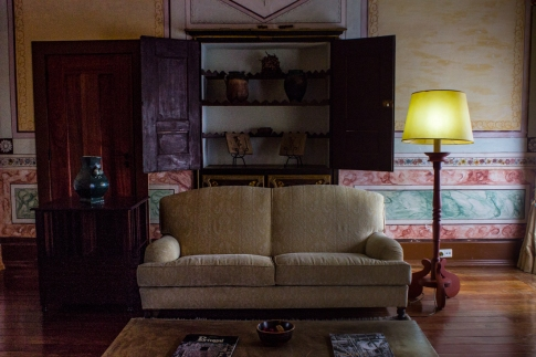 Sitting Room off the Upper Cloister of the Pousada, Vila Vicosa