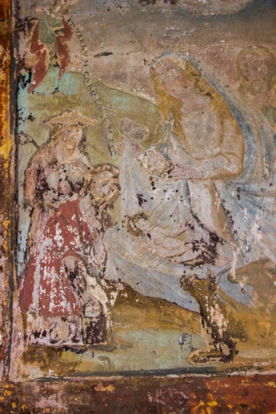 Frescoes near the Church & inside the Pousada, Vila Vicosa