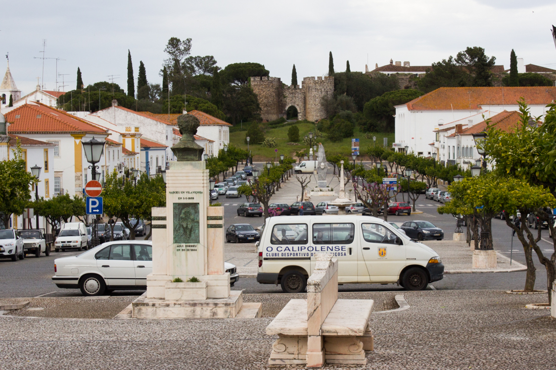 The Castle in Vila Vicosa