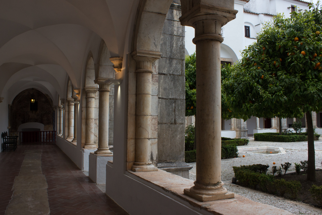 The Cloister of the Pousada, Vila Vicosa