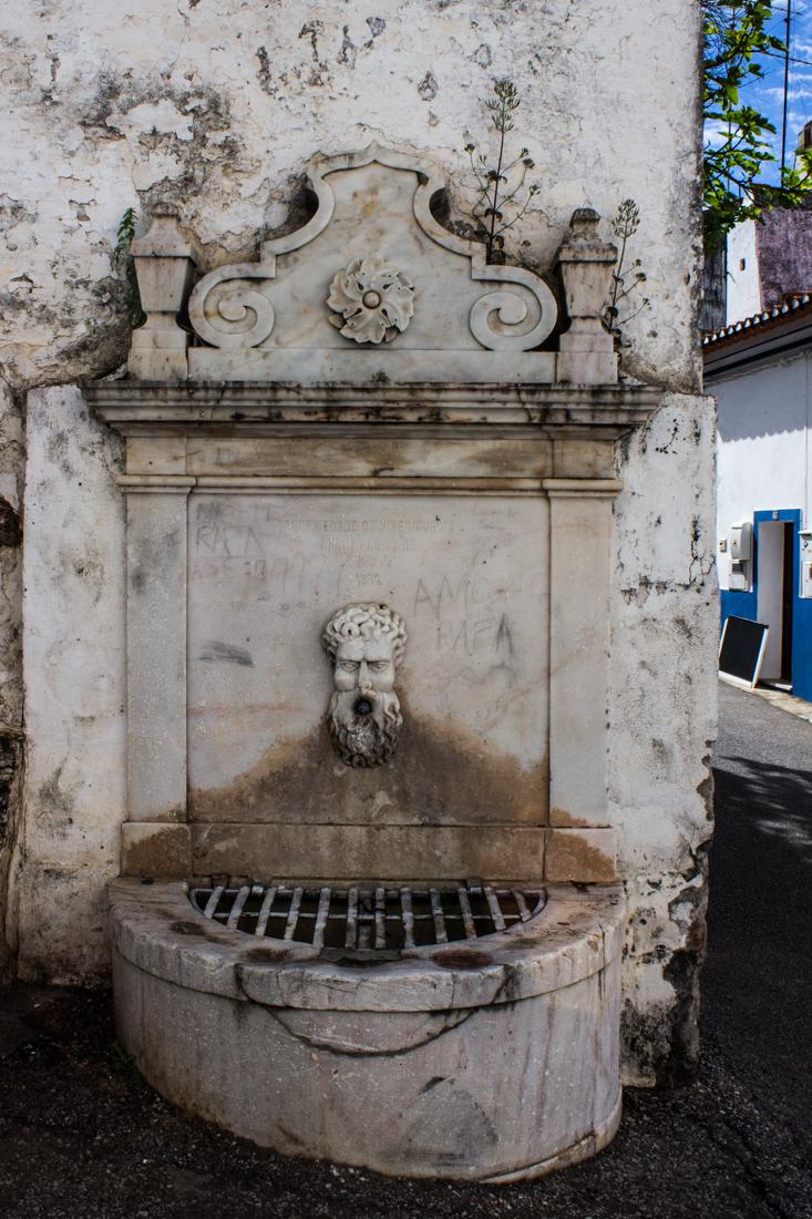 Fountain (1872) outside the Hospital of the Misericordia, Alandroal