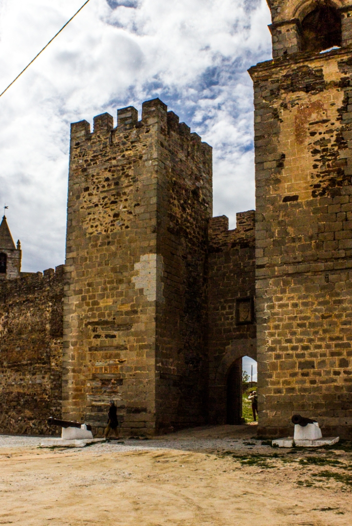The Town Gate, Mourao Castle