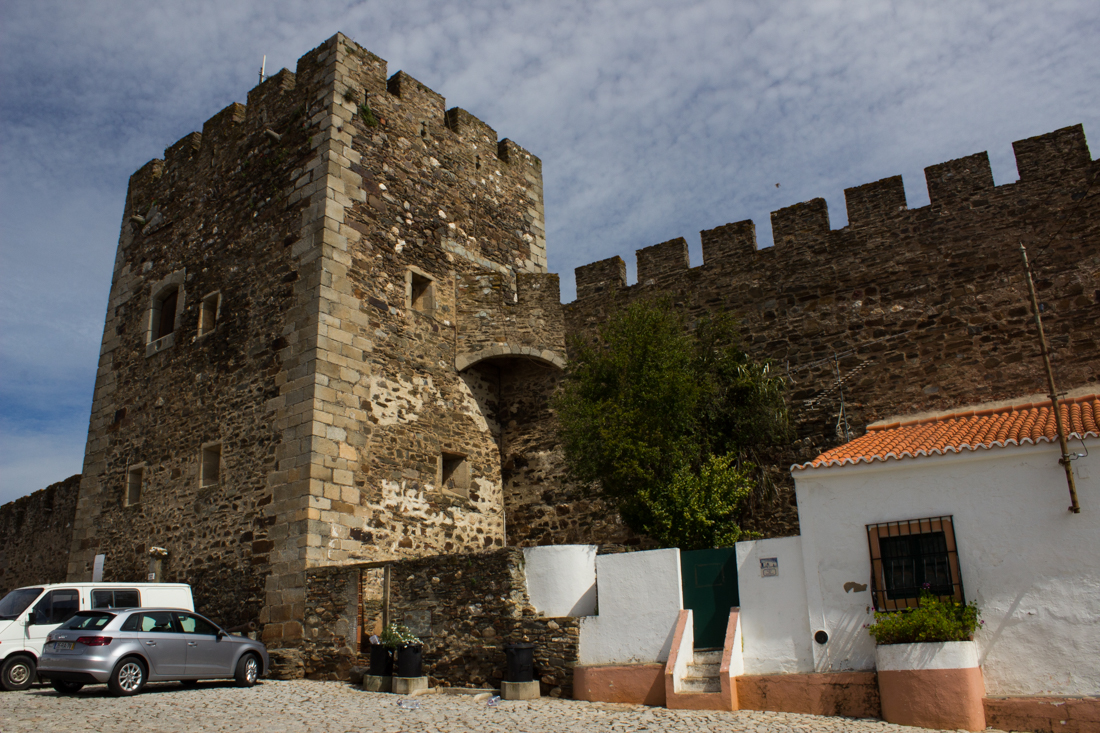 The Tower of the main gate, Terena Castle