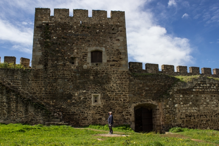 The Keep and Town Gate from inside the walls, Terena Castle
