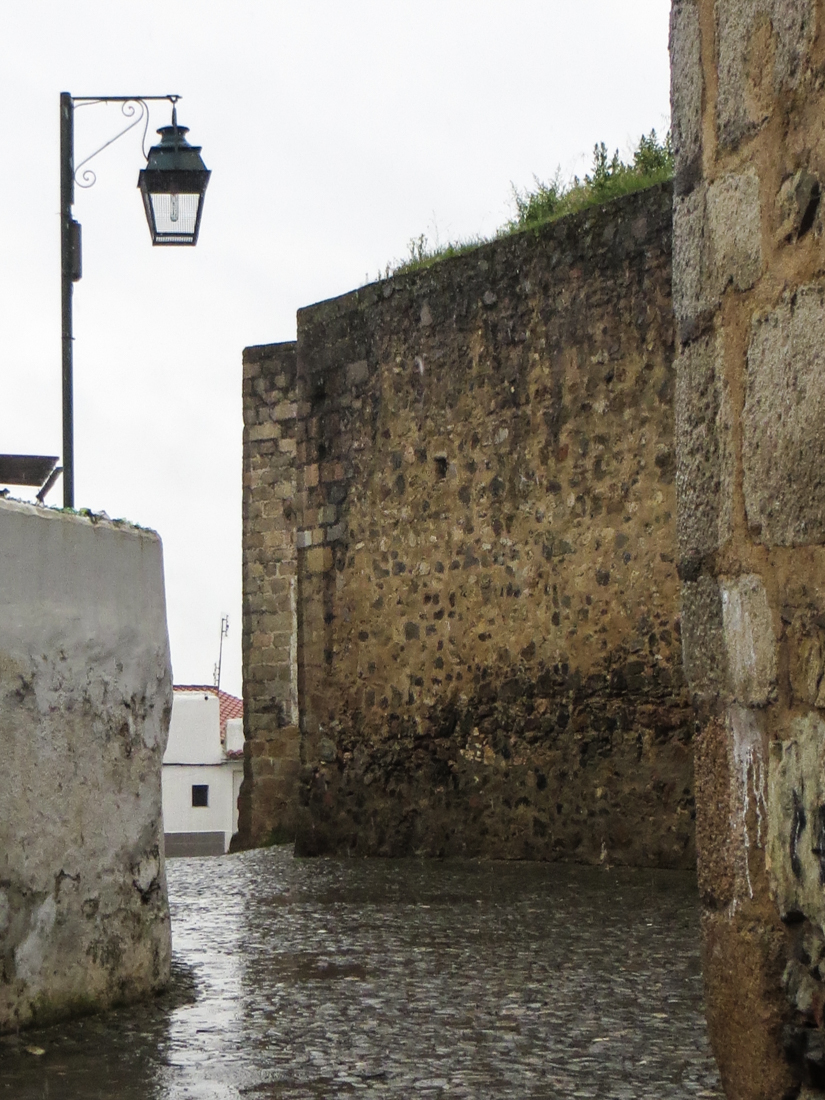 The walls of Campo Maior Castle