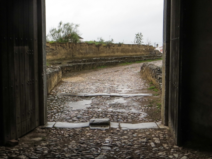The Gate into Juromanha Castle